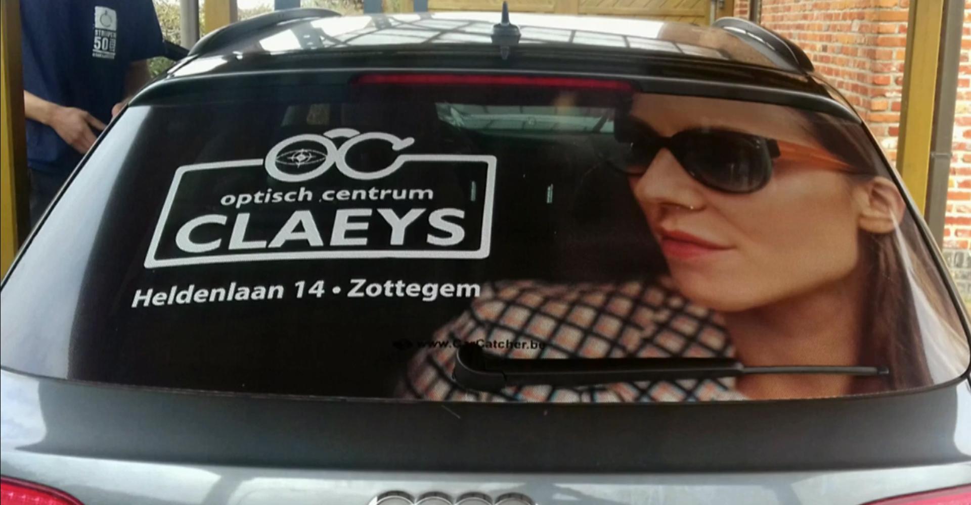 Optiek Claeys nu ook in het straatbeeld!